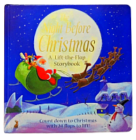 The Night Before Christmas. A Lift-the-Flap Storybook